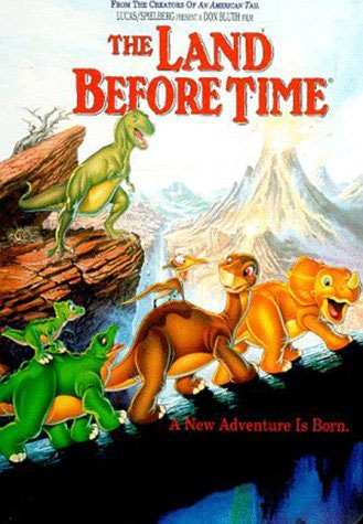 """""""The Land Before Time"""" by Don Bluth. One of my favorite animated movies. And one of my favorite directors."""