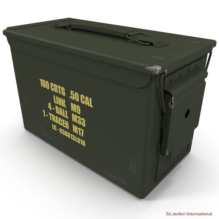 Metal Ammunition Case 3d model http://www.turbosquid.com/3d-models/maya-metal-ammunition-case/918062?referral=3d_molier-International