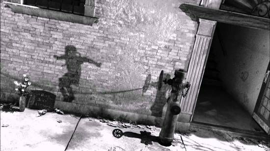 The Hiroshima bombing instantly killed nearby individuals while simultaneously capturing shadowy snapshots of their last moments. These images were burnt onto nearby buildings, streets & sidewalks. One of the saddest photos I've seen of the silhouettes is this image of a child jumping rope