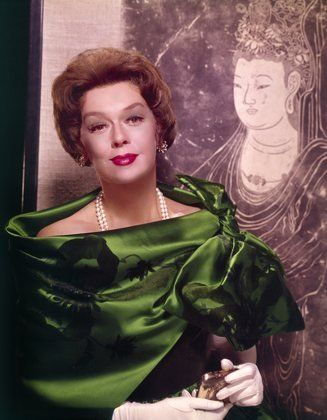 Rosalind Russell publicity photo for Auntie Mame