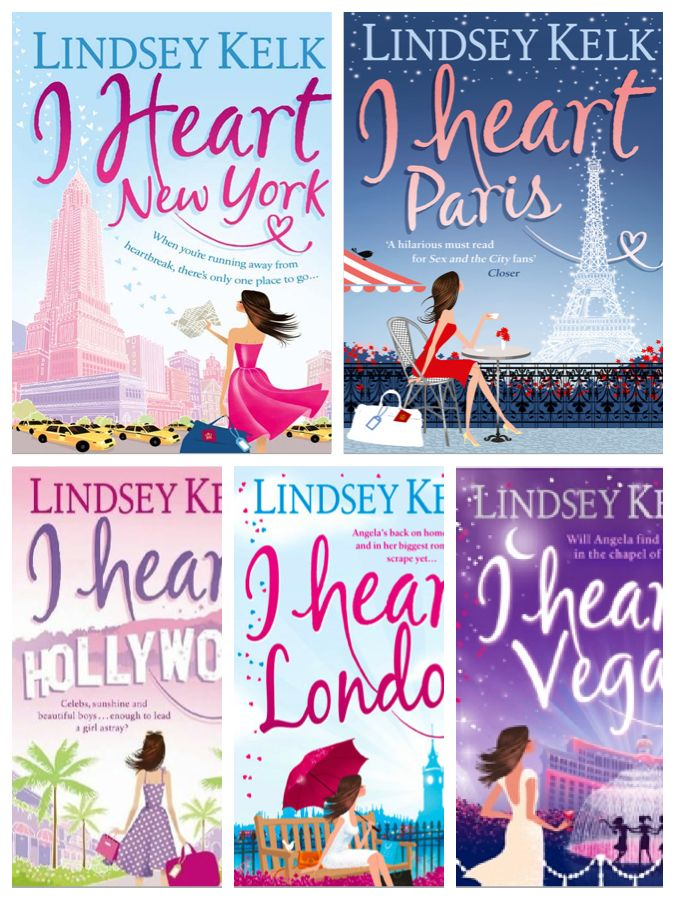 Lindsey Kelk I Heart Books Series
