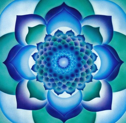 MANDALA alice è meraviglioso - befairbefunky: Fiore della vita ~ Azul Lotus ... ---> Great tools for light-workers.. Flower of Life T-Shirts, V-necks, Sweaters, Hoodies & More ONLY 13$ EACH! LIMITED TIME CLICK THE PIC