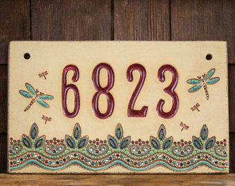 25 best ideas about house number signs on pinterest. Black Bedroom Furniture Sets. Home Design Ideas