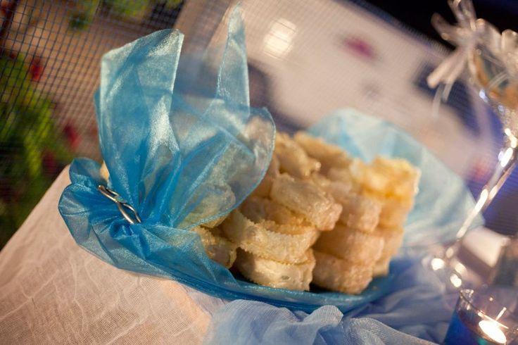 "Traditional cretan christening and wedding treats ""kserotigana""!"