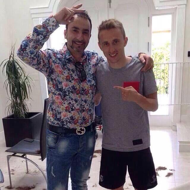 Luka Modric New Look