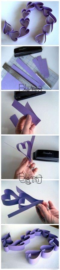 Heart Banner - so easy!