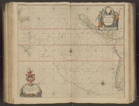 Page 24 from Zee-atlas; Colom, Arnold  1656?  Albert and Shirley Small Special Collections Library, University of Virginia.  http://search.lib.virginia.edu/catalog/uva-lib:2287415/view#openLayer/uva-lib:2380025/6537/8579.5/2/1/1