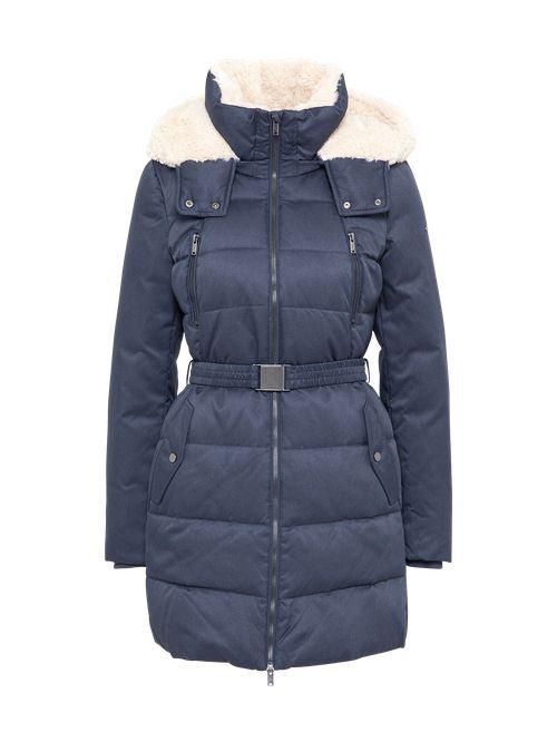 #mode #ootd #outfit #fashion #style #online   #EDC BY ESPRIT Damen Winterjacke RDS BeltDown blau | 04058908675611