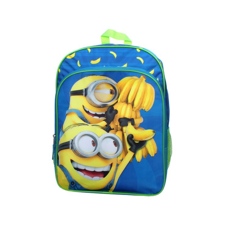Kids Despicable Me Minions Banana Backpack, Ovrfl Oth
