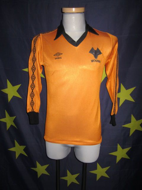 1979-80 Wolves Umbro shirt As worn by Geoff Palmer