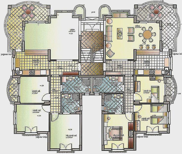 Plan Interieur Maison Moderne 3d Plan Maison Moderne 3d Nouveau Maison Plan 3d Free Plan Mai Bedroom House Plans Luxury House Plans Minecraft Houses Blueprints