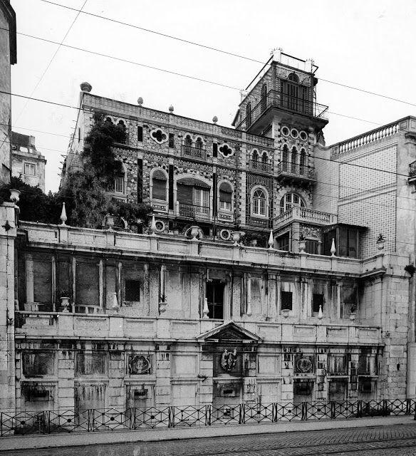 Lisboa de Antigamente: Palacete do Chafariz d'El-Rey, ou Palacete das Rat...