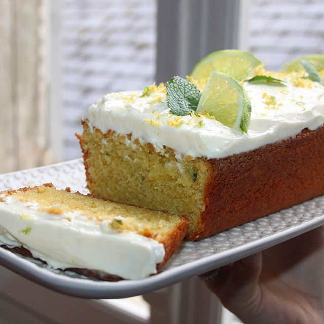 Cake mojito  #cake #citron #menthe #foodblogger #patisserie #homemade #glacage #yummy