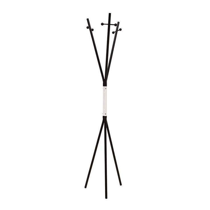METAL COAT HANGER IN BLACK-WHITE COLOR 33X33X175 - Coat Hangers - FURNITURE