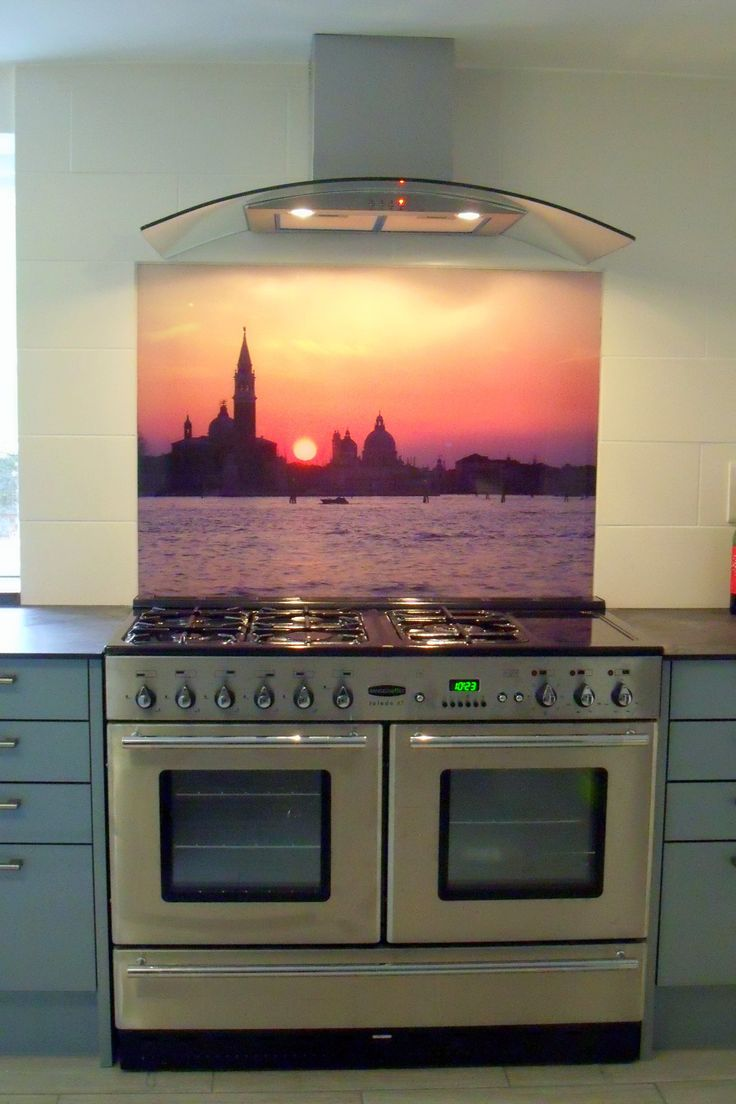 "Our customer sent in this wonderful photo of her splashback to which we applied her own image. She emailed us with these comments: ""Just wanted to thank you and your colleagues for doing such a great job on my cooker splashback! It is now installed and looking super, and has already had compliments. My builder has asked for Shepway's details which I have of course passed on."" #anotherhappycustomer"