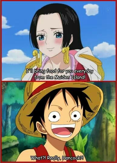 31 best luffy hancock images on pinterest boas luffy and hancock and one piece - One piece luffy x hancock ...