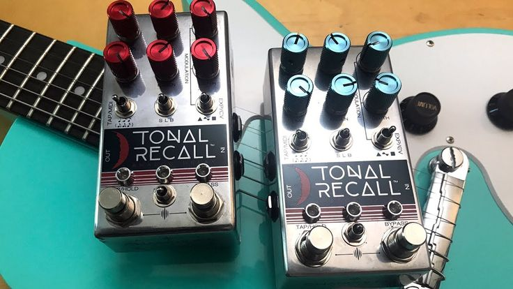 Tonal Recal RED vs. Tonal Recal BLUE