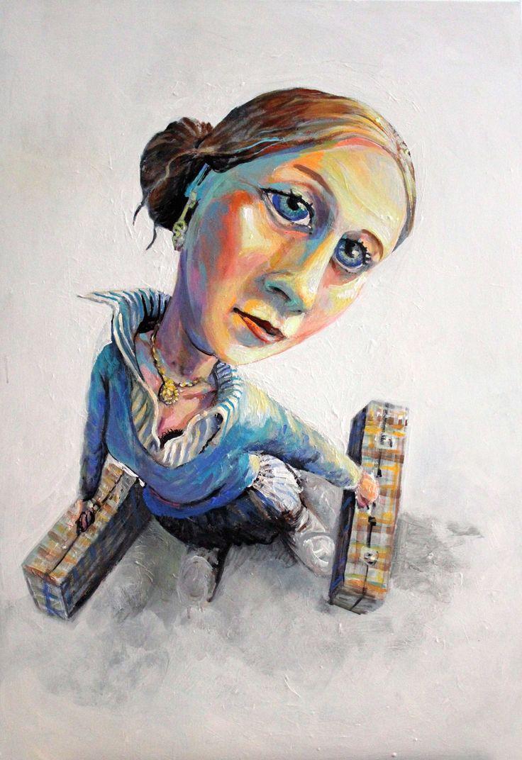 Paula 100 x 70 cm 2013