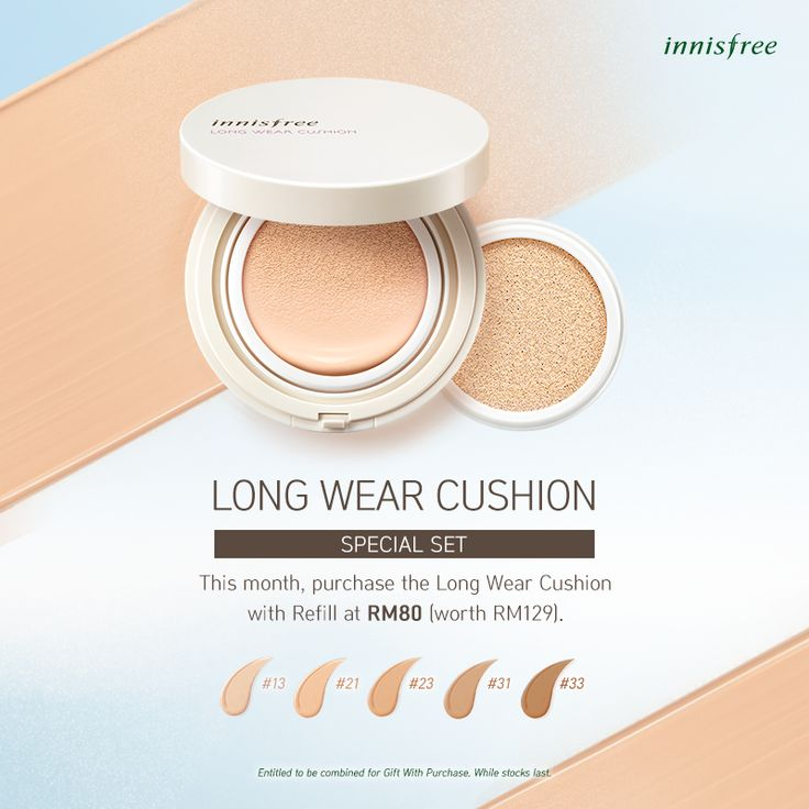 Long Wear Cushion #innisfree