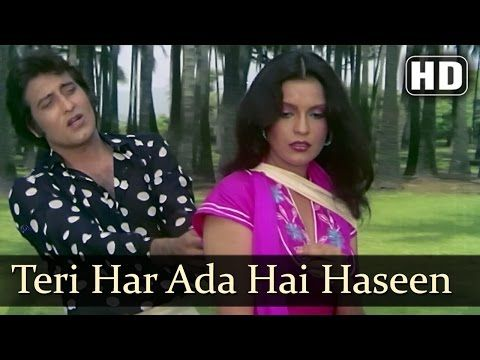 Daulat - Teri Har Adda Hai - Kishore Kumar - Asha Bhosle - YouTube