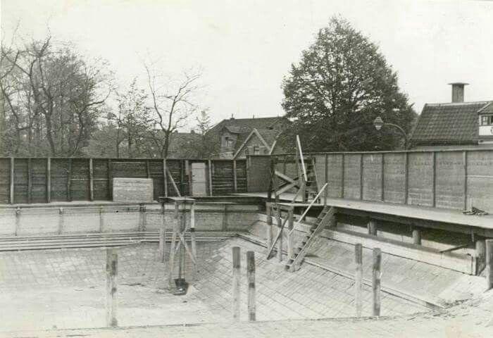 Aanleg zwembad Badhuisweg