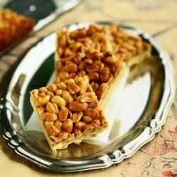 Honey Peanut Spelt Bars by angiesrecipes