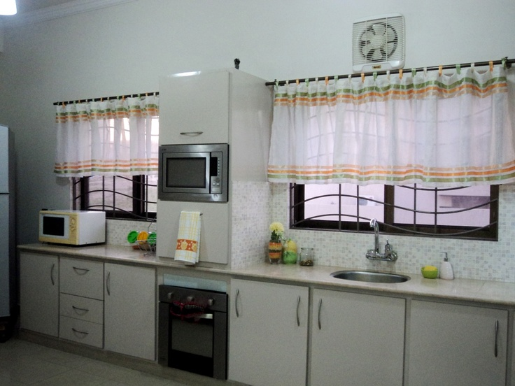 Love the curtains | Kitchen ideas | Pinterest