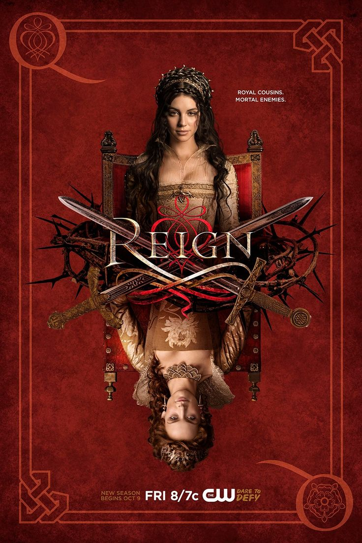 Will Queen Elizabeth's arrival change how Mary plays the game? #Reign premieres Friday, October 9.