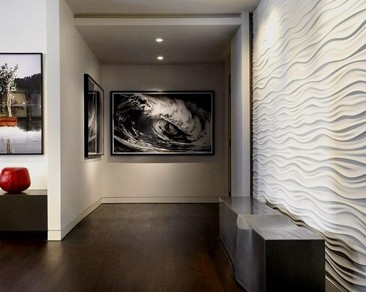 High Quality Wall Texture Contemporary Hall By Turn Collaborative