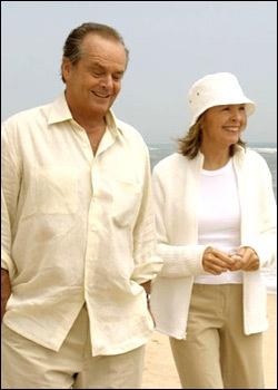 Something's Gotta Give 2003 Jack Nicholson & Diane Keaton