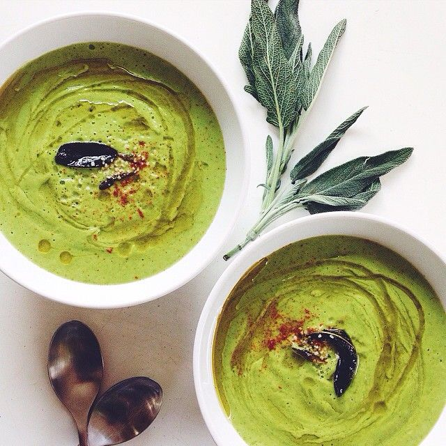 literally the easiest soup you'll ever make, and the most nutritious. bursting with green veggies…