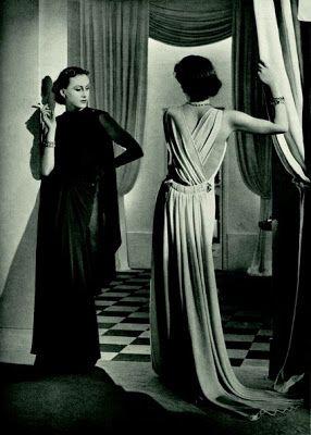 Lelong gowns, c.1930s
