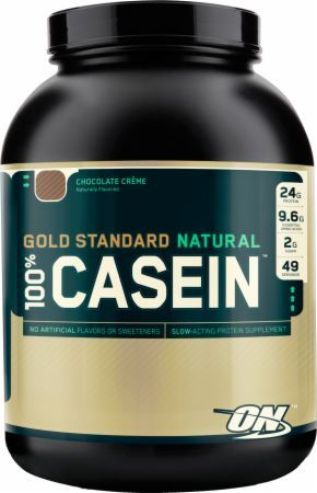 Optimum Nutrition Gold Standard 100% Casein Chocolate Creme 4 Lbs. - Natural OPT312 Chocolate Creme - Ideal for Between Meals and Before Bed to Feed Muscles and Fuel Recovery*