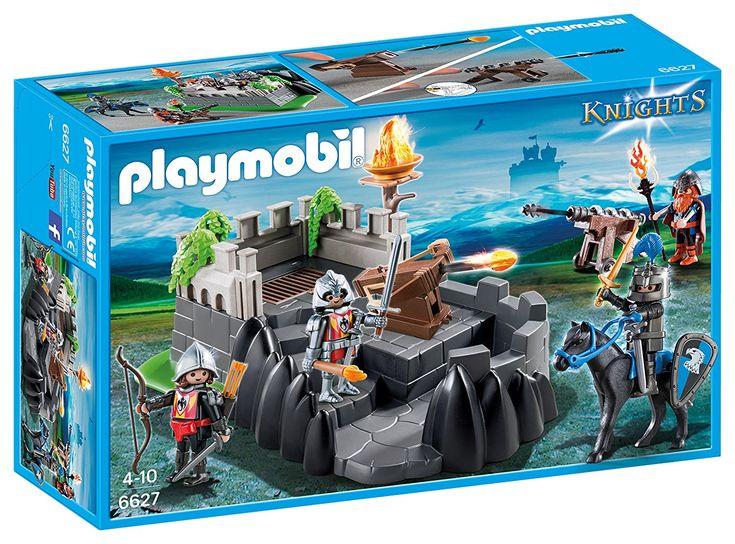Playmobil - 6627 - Jeu - Bastion Des Chevaliers. Le bastion des chevaliers du Dragon Ailé est prêt à résister aux attaques des chevaliers du Faucon. Ses chevaliers sont entrainés et fortement armés. A partir de 3 ans. Acheter neuf : EUR 9,99.  Acheter neuf : EUR 9,99  44 neuf & d'occasion à partir de EUR 9,99