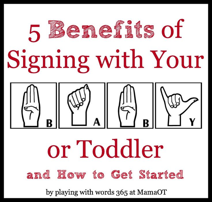 5 benefits of signing with your baby or toddler (plus tips for how to get started)