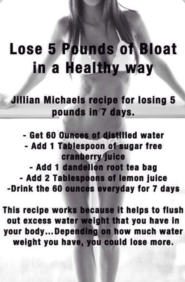 Lose Water Weight | Health fitness:__cat__, Lose 5 pounds ...
