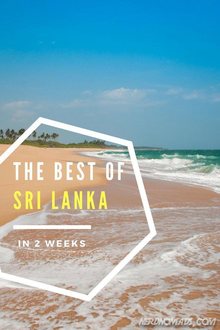 Sri Lanka Itinerary - The Best Of Sri Lanka In Two Weeks