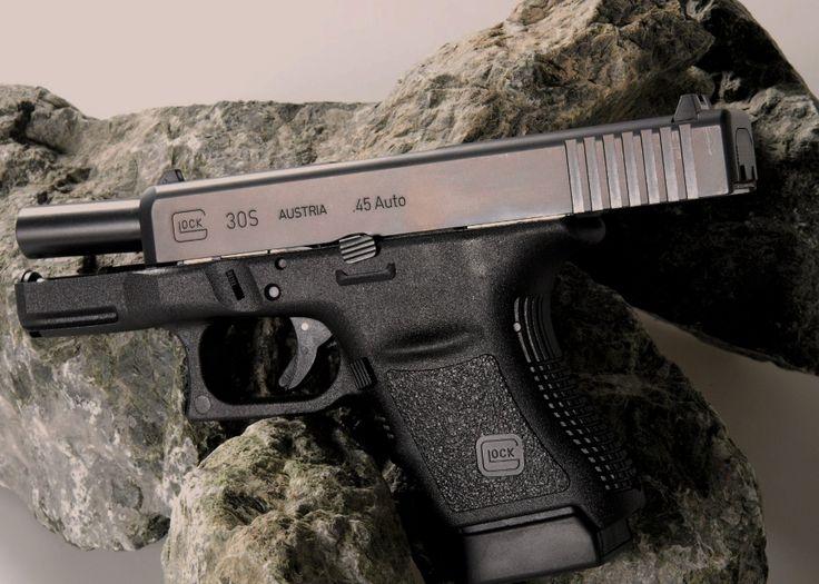 Glock 30S on the stone
