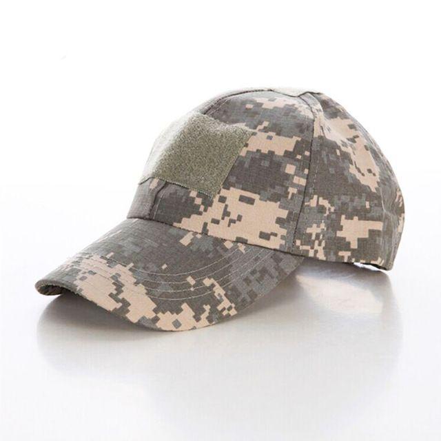 Camouflage Velcro Cap