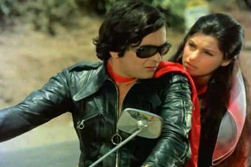 Rishi Kapoor and Dimpal Kapadia
