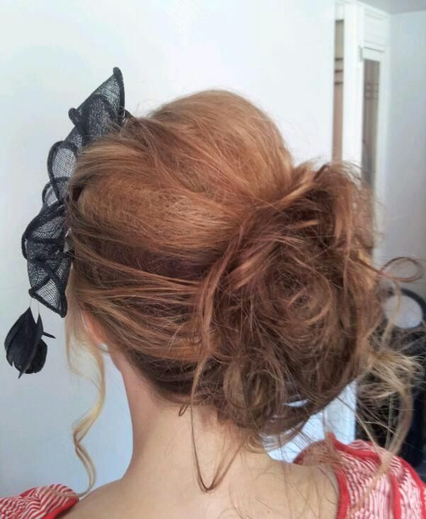 Hair up for the races