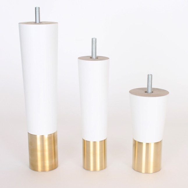 Prettypegs' Estelle White are now also available in size large 220 mm (8,7''). Have a look at http://www.prettypegs.com/us/pegs/12-estelle-170.html#/size-height_170_mm_67_inches/fittings-m8_bolt/colour-white #prettypegs #furniturelegs