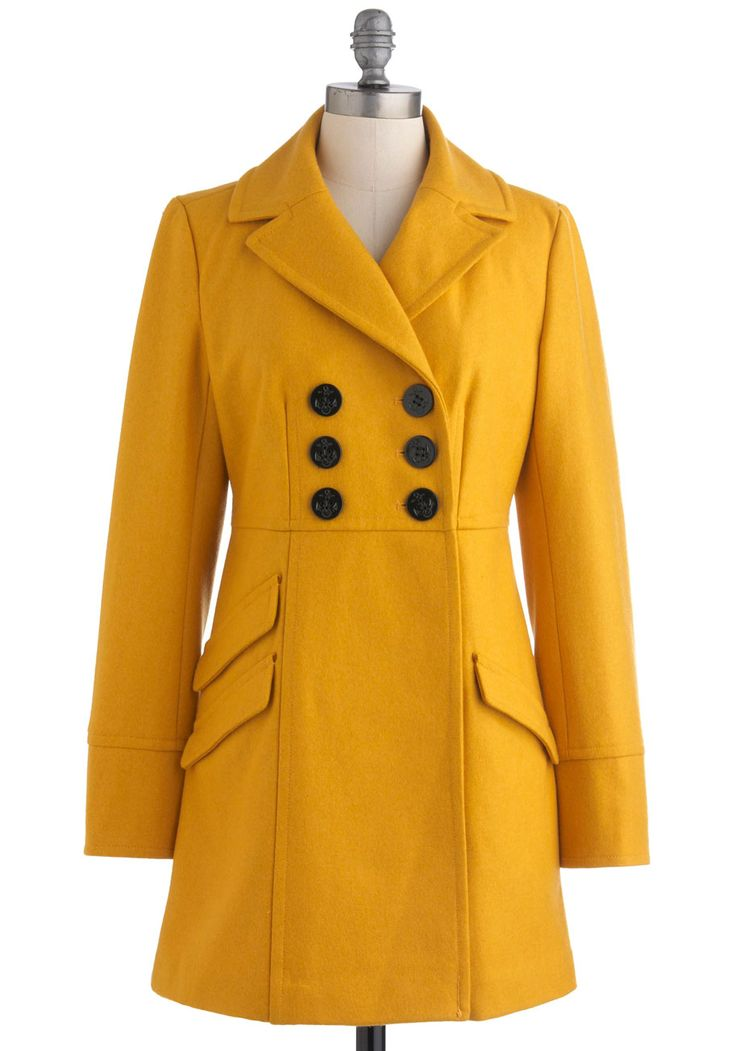Dijon My Mind Coat by Tulle Clothing
