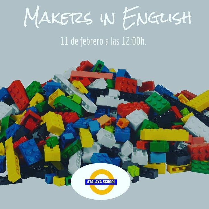 Este domingo aprendemos inglés con Legos! Toda la info en el link de la bio  #makers #minimakers #learningwithlegos #legos #curiositydrivenlearning #atalayers #atalayaschool #daganzo #daganzodearriba #aprenderingles #kidsenglish #kids
