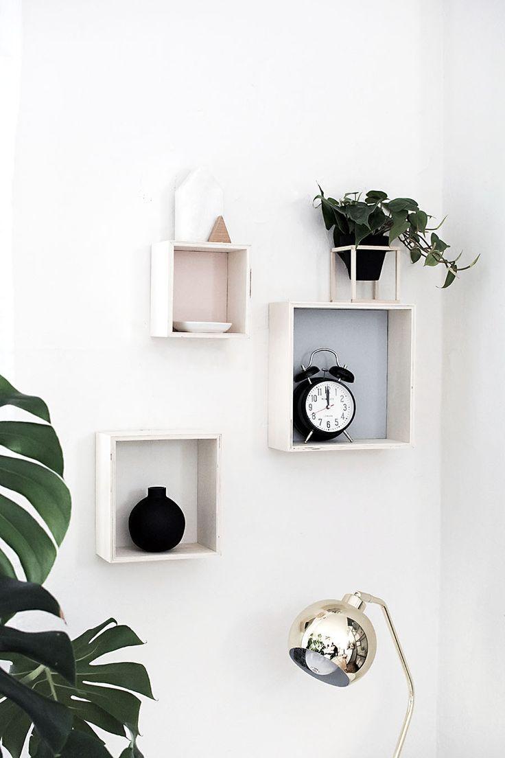 DIY- shadow boxes