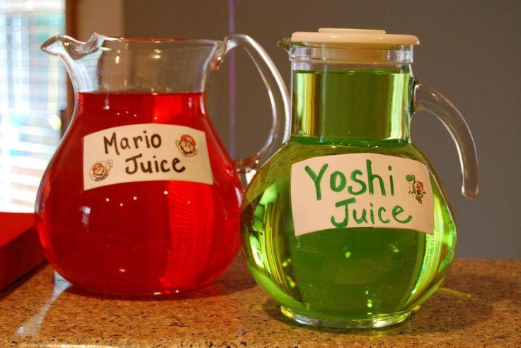 Mario Juice, Yoshi Juice