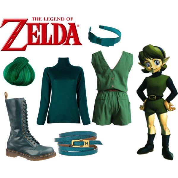 """""""Saria Legend of Zelda"""" by andydrinkscoffee on Polyvore"""