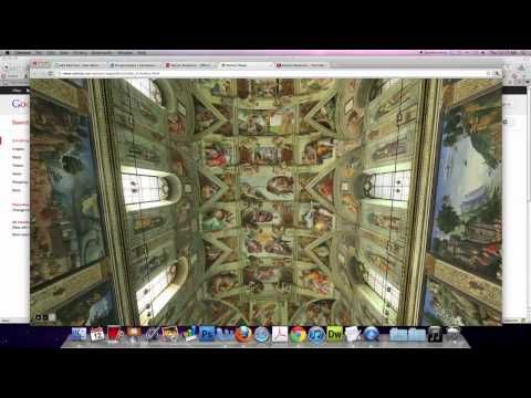 Virtual Tour Sistine Chapel, Virtual Sistine Chapel is an amazing 360 degree interactive view of the Sistine Chapel brought to you by your friends at the Vatican.
