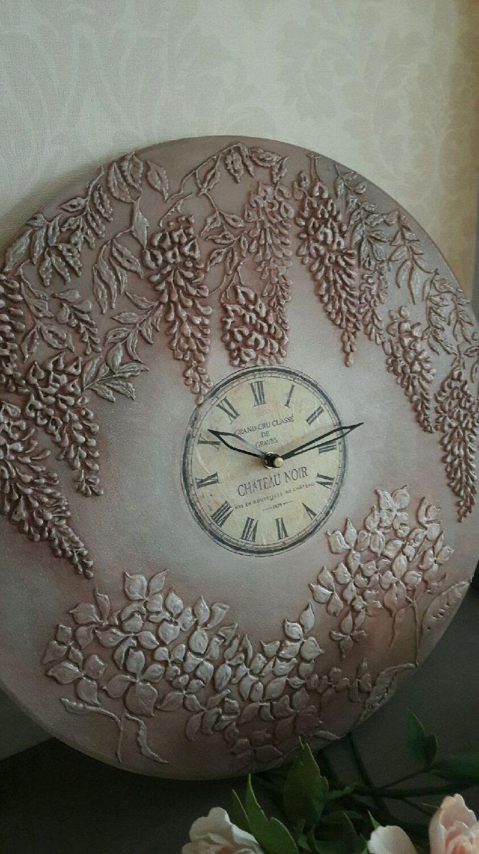 """Купить Часы настенные """"Сад в ночи"""" - часы, часы настенные, часы интерьерные"""