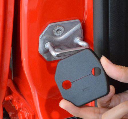 Двери автомобиля крышка замка защиты крышки антикоррозийная для Ford focus 3 Kuga автозапчасти аксессуары FSK01